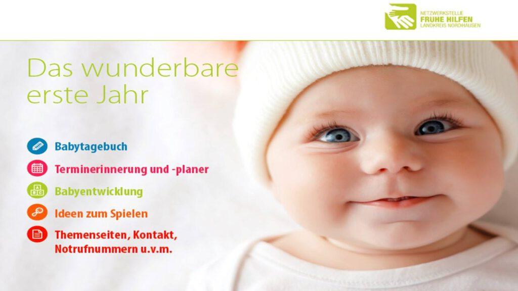 """Babykalender """"Das wunderbare erste Jahr"""""""